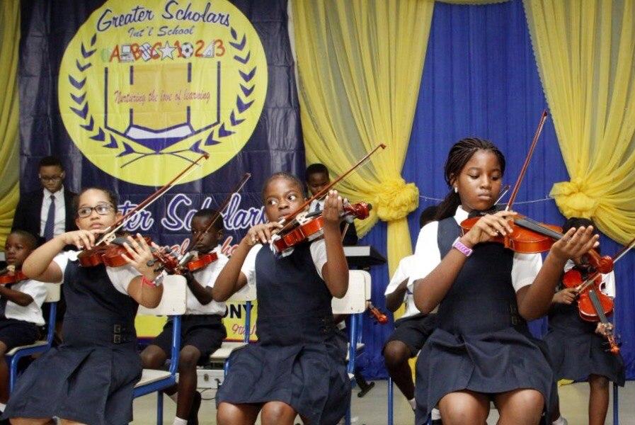 Violin at Greater Scholars International School