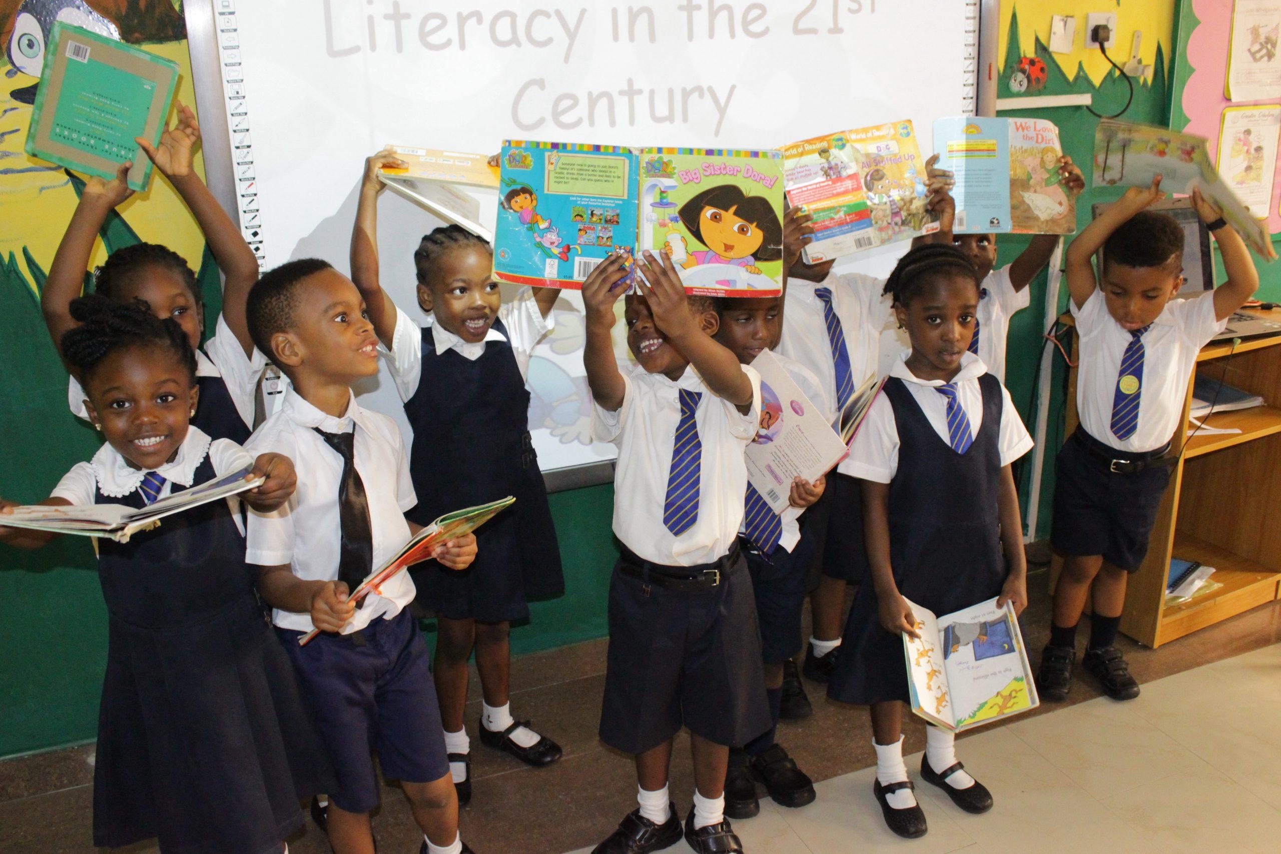 Children with books_5 ways to nurture creativity in your child
